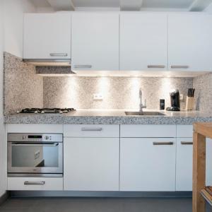 מטבח או מטבחון ב-Charles Apartments