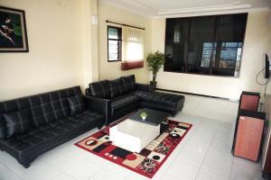 A seating area at Villa Cemara