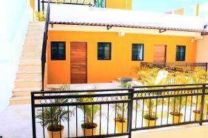 מרפסת או טרסה ב-Maya Inn