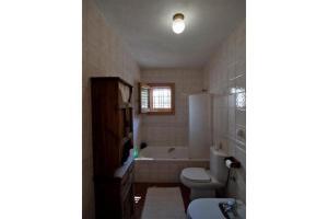 A bathroom at San Jose Villa Sleeps 8 Pool WiFi