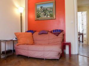A seating area at Apartment villa Piron