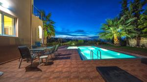 The swimming pool at or near Meliades Villas