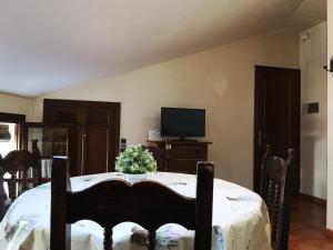 TV o dispositivi per l'intrattenimento presso Apto rural Fuente El Chorrito de Grazalema