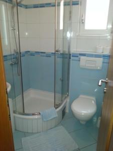 A bathroom at Apartments Grozdana
