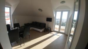 Posezení v ubytování Apartment Star