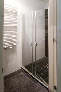 A bathroom at Luxury Apartments