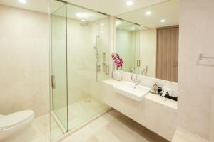 A bathroom at Baan Mai Khao Beachfront [ Two-Bedroom Family Suite ]