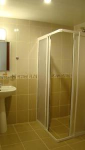 Vonios kambarys apgyvendinimo įstaigoje Primera Hotel & Apart