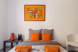 Ein Bett oder Betten in einem Zimmer der Unterkunft ⭐️The Pfeffel   Unbeatable location  Petite Venise