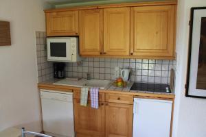 Majoituspaikan Alpage: Residence Brevent keittiö tai keittotila