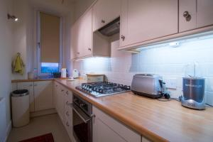 A kitchen or kitchenette at West Highland Apartments - The Nevis