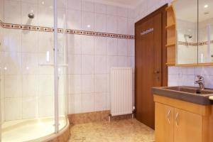 Ein Badezimmer in der Unterkunft Edelberg Apartments