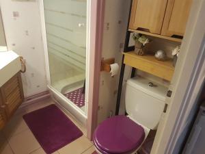 Salle de bains dans l'établissement Mon Petit Paradis