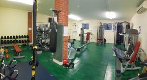 The fitness center and/or fitness facilities at The Dorset Resort