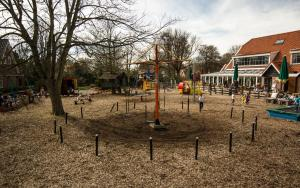 Children's play area at Restaurant-Speelparadijs Schouwer Hoeck