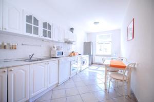 A kitchen or kitchenette at Apartment Vezenska