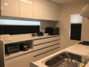 Bella Cornerにあるキッチンまたは簡易キッチン