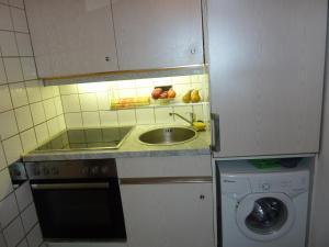 Küche/Küchenzeile in der Unterkunft Apartments Classic & Galeria