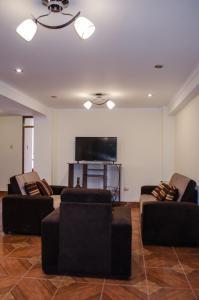 Zona de estar de Mayte Apartment