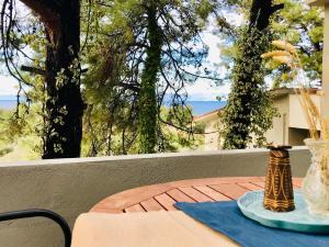 A balcony or terrace at Armonia Villas
