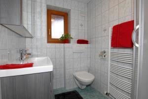 Ein Badezimmer in der Unterkunft Haus Tasser