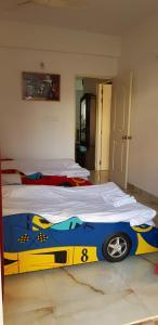Ein Bett oder Betten in einem Zimmer der Unterkunft Asian Bay View