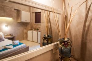 A kitchen or kitchenette at Zante Nest Studios & Apartments