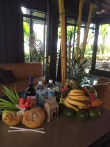 Breakfast options available to guests at Villa Guarias