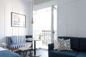"""A seating area at Getaway Studios """"The Providence"""" Oostende"""