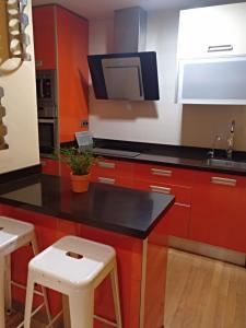 Una cocina o zona de cocina en Calafate (Barrio Universitario)