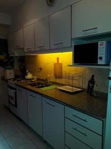 Cleopatra tesisinde mutfak veya mini mutfak