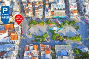 A bird's-eye view of Urban Flat 2019