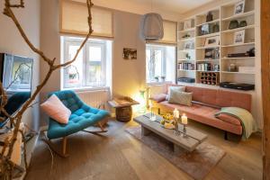 Setusvæði á Apartment Vienna. Your second home abroad