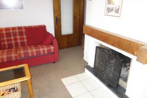 Ein Sitzbereich in der Unterkunft Appartements Remointze