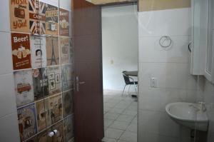 Un baño de Mozamba Surf House