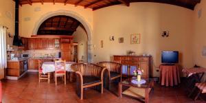 Een restaurant of ander eetgelegenheid bij Finca La Bonita