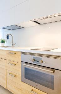 Küche/Küchenzeile in der Unterkunft Your Apartment In Atocha