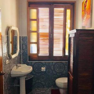 O baie la Apartament Rosario