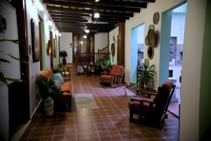 The lobby or reception area at Fortaleza Suites Old San Juan
