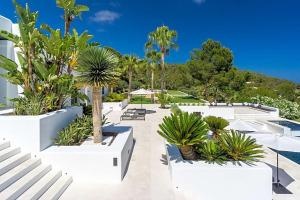 A view of the pool at Playa de Talamanca Villa Sleeps 12 Pool Air Con or nearby