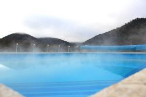 Бассейн в Отель Абаго или поблизости