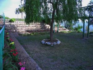 A garden outside KGM Home Stay