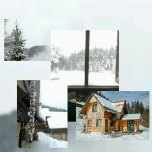 Obiekt Apartment glamping house Maruša zimą