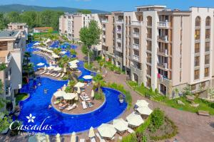 A view of the pool at Cascadas Family Resort or nearby