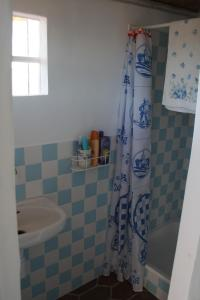 A bathroom at Silves Historical House