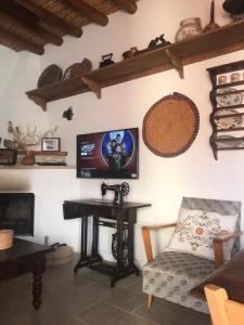 TV/Unterhaltungsangebot in der Unterkunft House of Eleni