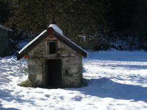 L'établissement Gite du Carbounet en hiver