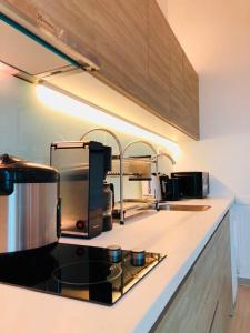 A kitchen or kitchenette at I-City Holiday