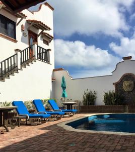 A piscina localizada em Villas San Miguel ou nos arredores