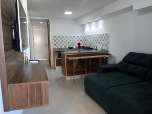 A kitchen or kitchenette at 4 Landscape Beira Mar Fortaleza
